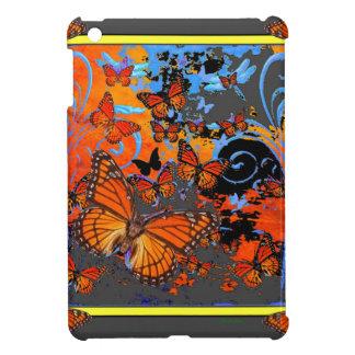 Monarch Butterflies Stormy Weather Art iPad Mini Cases
