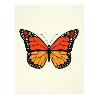 Monarch butterfly 21.5 cm x 28 cm flyer