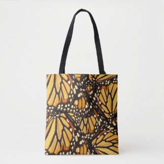 Monarch Butterfly Abstract Orange Animal Tote Bag