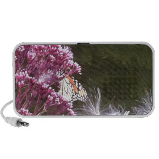 Monarch Butterfly and Mikweed Portable Speaker