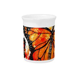 Monarch Butterfly Art02 Pitcher