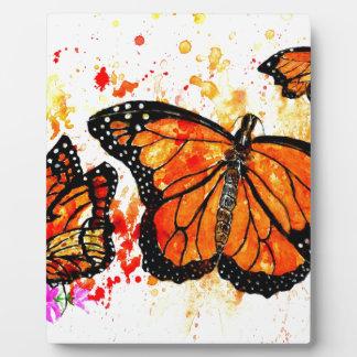 Monarch Butterfly Art02 Plaque