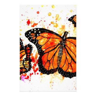 Monarch Butterfly Art02 Stationery