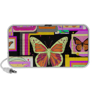 Monarch Butterfly Art Collection by Sharles PC Speakers