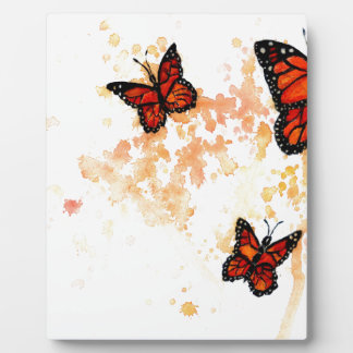 Monarch Butterfly Art Plaque