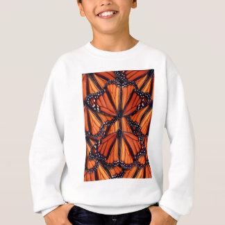 monarch butterfly art sweatshirt