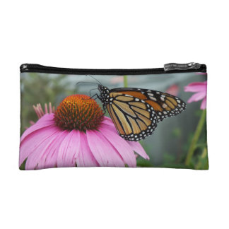 Monarch Butterfly Cosmetic Bag