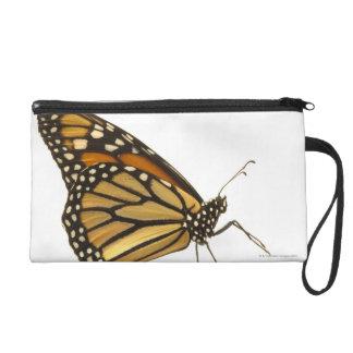 Monarch butterfly wristlet