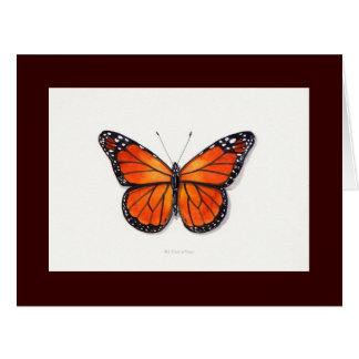 Monarch Butterfly Big Greeting Card