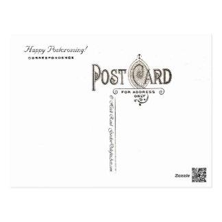 Monarch butterfly & California poppy - Postcard