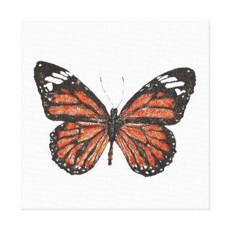 Monarch Butterfly Canvas Canvas Print