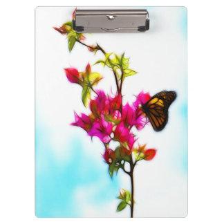 Monarch Butterfly Clipboard