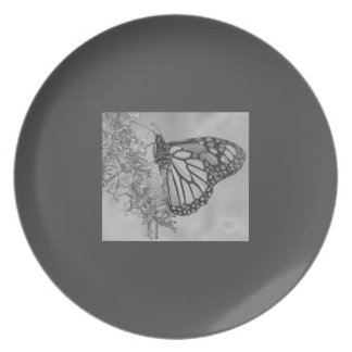 Monarch Butterfly Clothing Plate