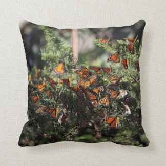 Monarch Butterfly Cluster Cushion