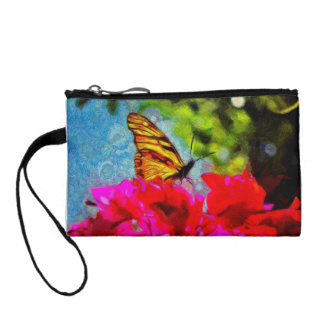 Monarch Butterfly Coin Purse
