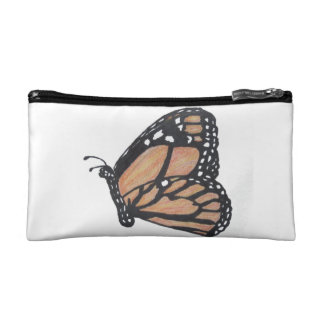 Monarch Butterfly Cosmetic Bags