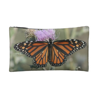 Monarch Butterfly Cosmetic or Accessory Bag