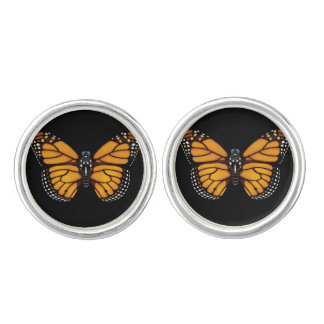 Monarch Butterfly Cufflinks
