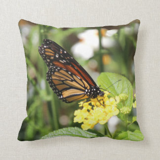 Monarch butterfly cushion