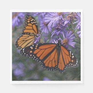 Monarch Butterfly Disposable Serviettes