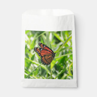 Monarch butterfly favour bags