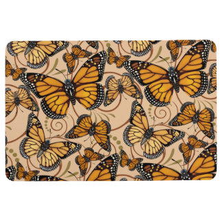 Monarch Butterfly Floor Mat