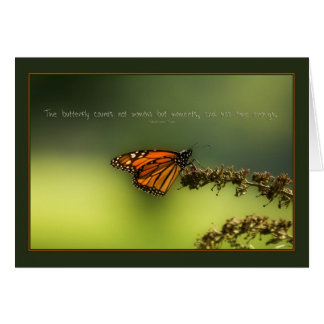 Monarch Butterfly - Greeting Card Greeting Card