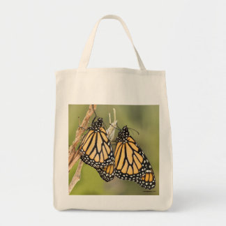 Monarch Butterfly Grocery Tote Bag