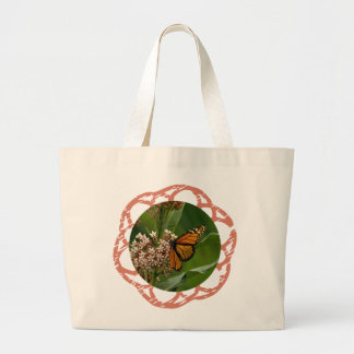 Monarch Butterfly Jumbo Tote Bag