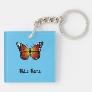 Monarch Butterfly Key Ring