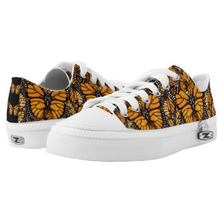 Monarch Butterfly Madness Low Tops