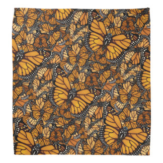 Monarch Butterfly Migration Bandana