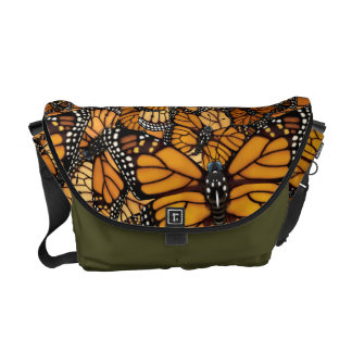 Monarch Butterfly Migration Courier Bags