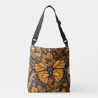 Monarch Butterfly Migration Crossbody Bag