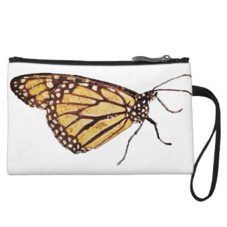 Monarch Butterfly MIni Clutch Purse Wristlets