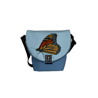 Monarch Butterfly Mini Zero Messenger Bag