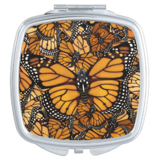 Monarch Butterfly Mirrors For Makeup