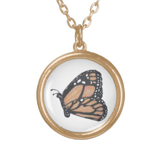 Monarch Butterfly Necklace - USA