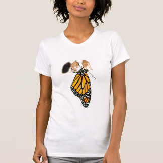 Monarch Butterfly Newborn Photograph T-Shirt