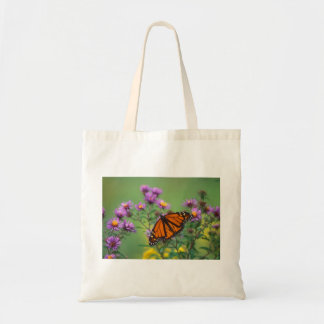 Monarch Butterfly on Asters Bags