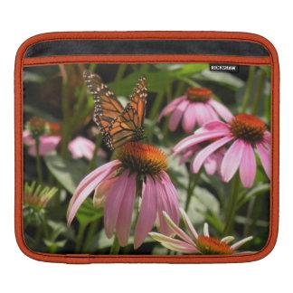 Monarch Butterfly on Coneflower iPad Sleeve