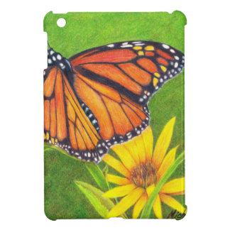 monarch butterfly on flowers iPad mini case