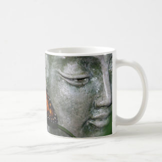 Monarch Butterfly on Kwan Yin Coffee Mug