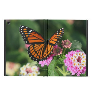 Monarch Butterfly on Lantana iPad Air Case
