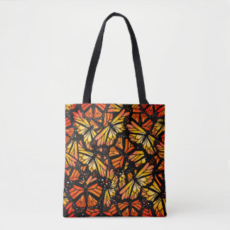 MONARCH BUTTERFLY PATTERN by Slipperywindow Tote Bag