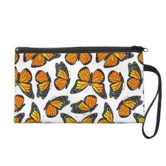Monarch Butterfly Pattern Wristlets