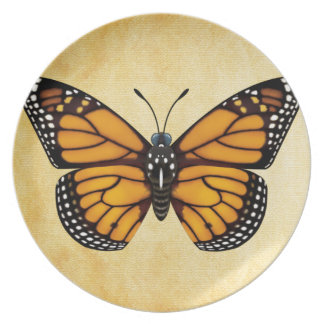 Monarch Butterfly Plate