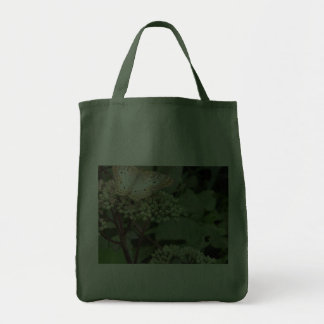 Monarch Butterfly/Platinum Canvas Bag