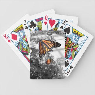 Monarch Butterfly Poker Deck