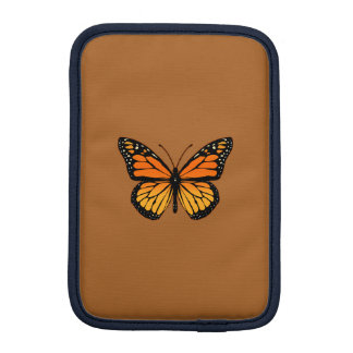 Monarch Butterfly Print iPad Mini Sleeve